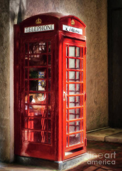 Photograph - Long Distance Call To London by Mel Steinhauer
