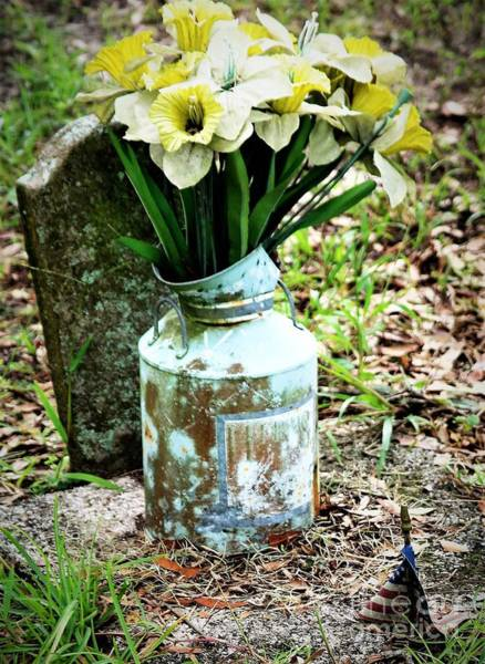 Life Or Death Photograph - Long Gone Never Forgotten by Diann Fisher
