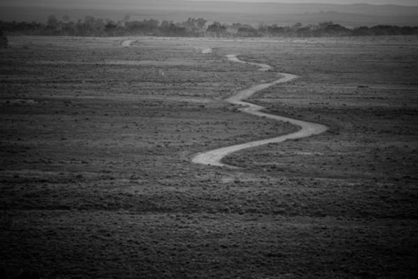 Photograph - Long Hard Road by Jeff Phillippi