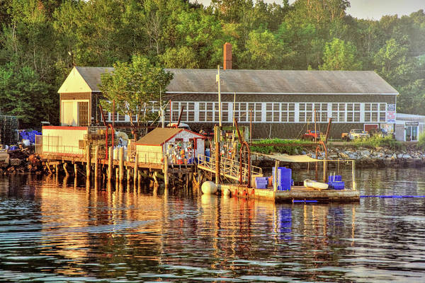 Wall Art - Photograph - Long Island Harbor - Maine by Joann Vitali