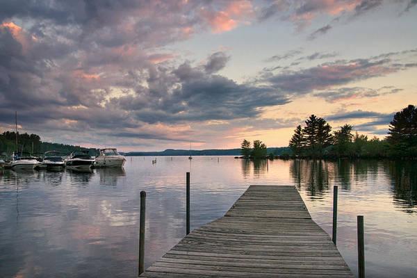 Photograph - Long Lake At Sunset by Darylann Leonard Photography