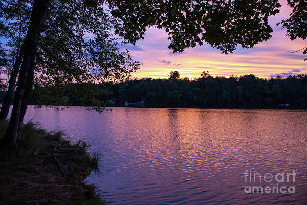 Photograph - Long Lake Sunset 1 by Kevin McCarthy