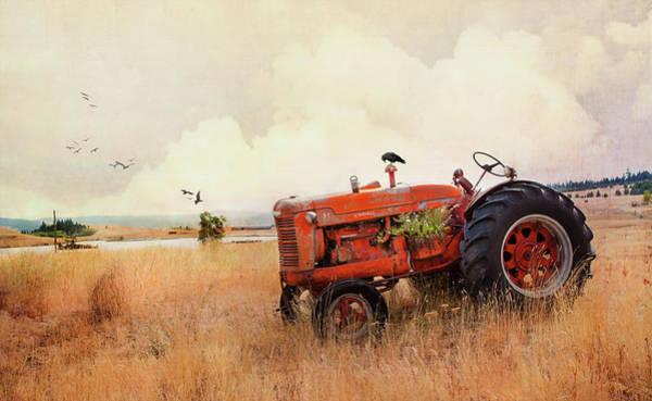 Photograph - Long Lake Tractor by Theresa Tahara