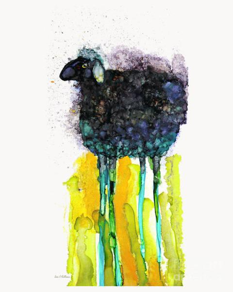 Painting - Long Legged Sheep by Jan Killian
