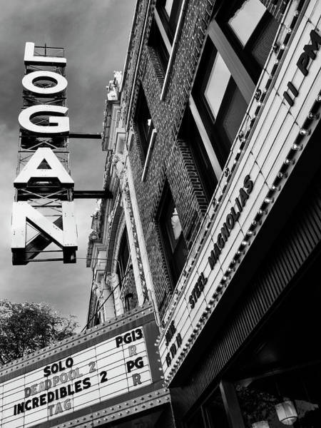 Wall Art - Photograph - Long Live Logan Logan Theatre by William Dey