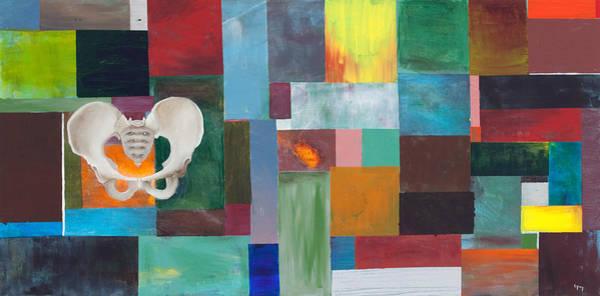 Wall Art - Painting - Long Pelvis by Sara Young