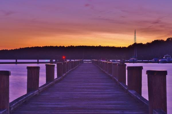 Photograph - Long Pier by Buddy Scott