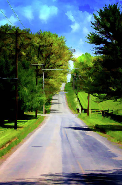 Photograph - Long Road Ahead by Reynaldo Williams