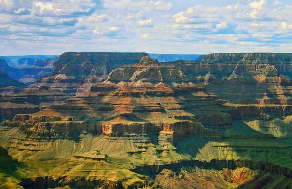 Photograph - Long Shadows Across The Grand Canyon  by Ola Allen