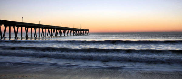 Wrightsville Beach Wall Art - Photograph - Long View by JC Findley