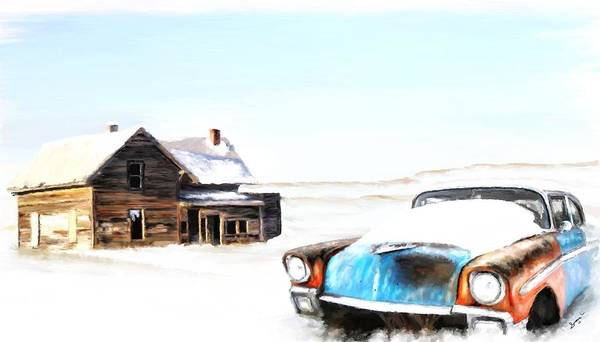 Painting - Long Winter by Susan Kinney