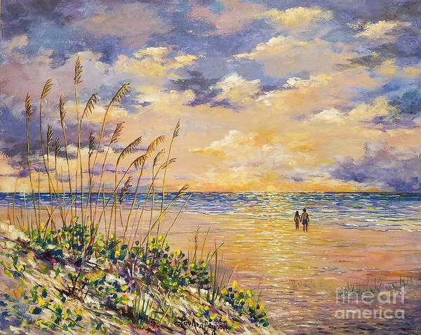 Wall Art - Painting - Longboat Key Hockleys View by Lou Ann Bagnall