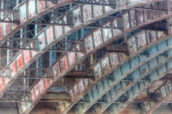 Photograph - Longfellow Bridge Arches II by Clarence Holmes