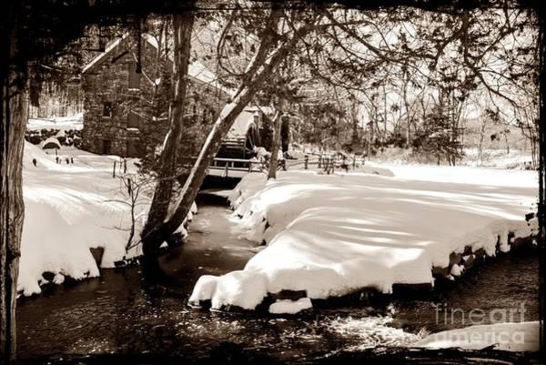 Wayside Photograph - Longfellow's Mill by Frank Garciarubio