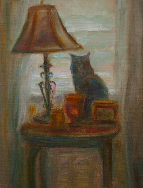 Painting - Longing- A Not-so-stillife by Quin Sweetman