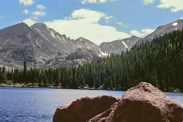 Photograph - Longs Peak And Keyboard Of The Winds Rocky Mountain National Park by NaturesPix