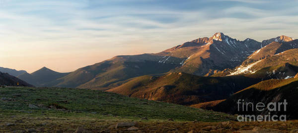 Wall Art - Photograph - Longs Peak Panorama by Ronda Kimbrow