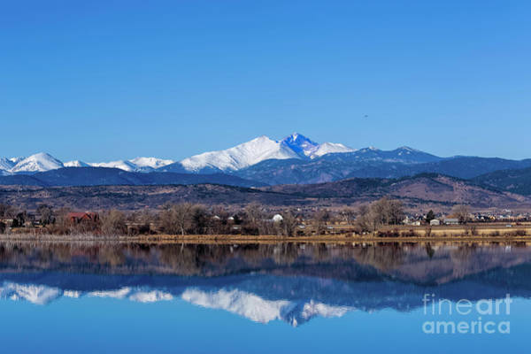 Photograph - Longs Peak Reflections by Jon Burch Photography
