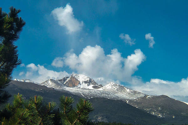 Photograph - Longs Peak Rocky Mountain National Park by NaturesPix