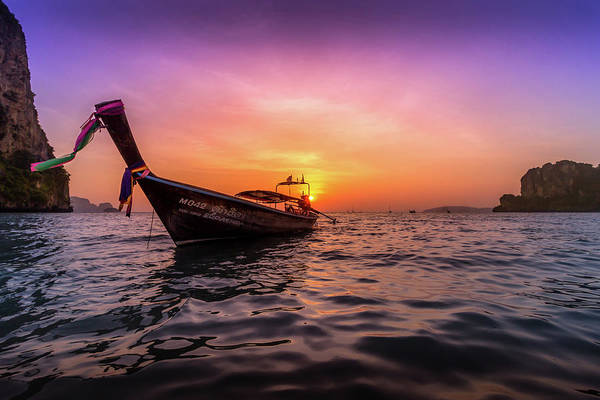 Hdr Wall Art - Photograph - Longtail Sunset by Nicklas Gustafsson