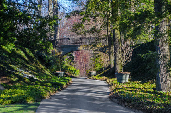 Wall Art - Photograph - Longwood Gardens - Bridge Over Path by Bill Cannon