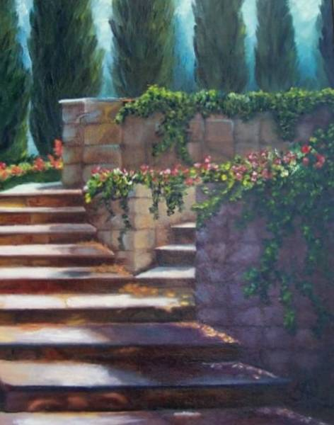 Painting - Longwood Gardens by Susan Dehlinger