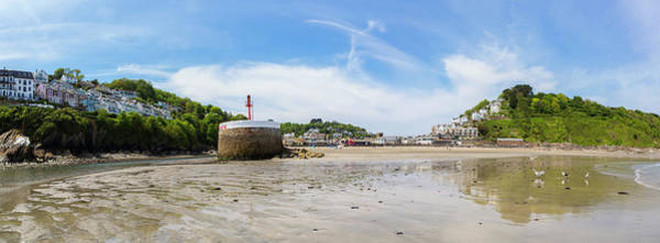 Photograph - Looe Bay At Low Tide, Cornwall. Uk by Maggie McCall