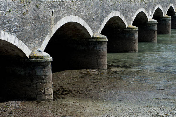 Photograph - Looe Bridge Arches by Helen Northcott