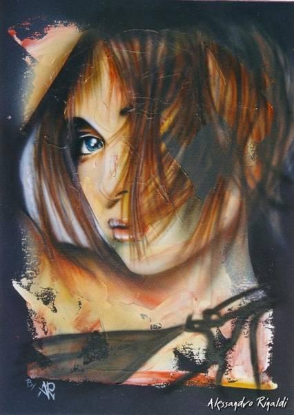 Acrilic Painting - Look... by Alessandro Rinaldi