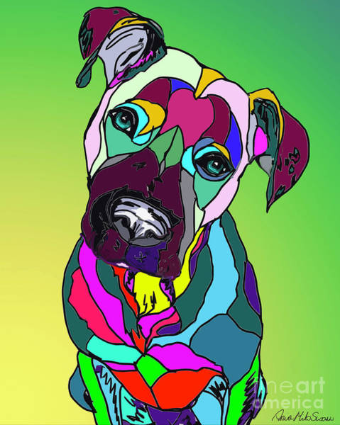 Digital Art - Look Of Love by Ania M Milo
