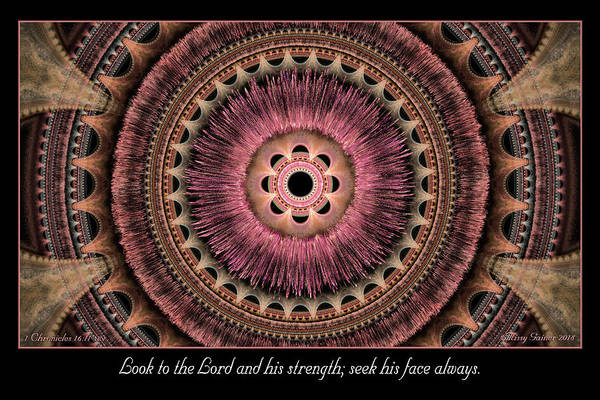 Digital Art - Look To The Lord by Missy Gainer