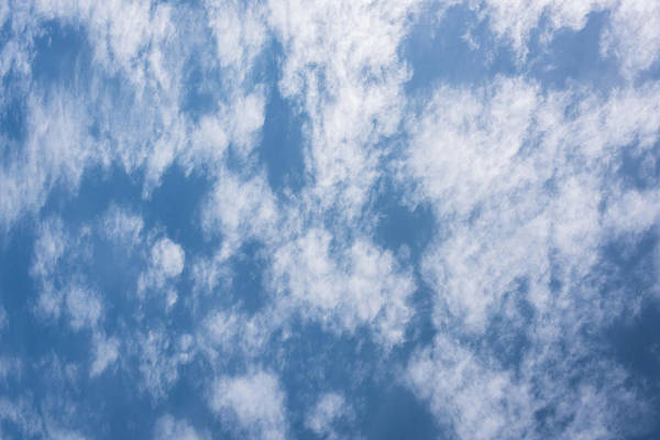 Photograph - Look Up Not Down Clouds by Terry DeLuco