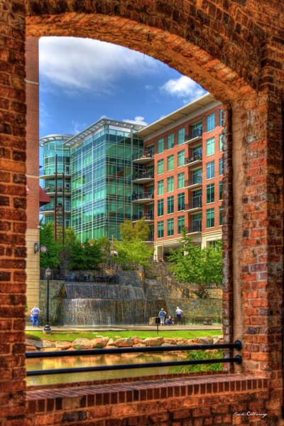 Photograph - Looking Across The Reedy River Greenville South Carolina Art by Reid Callaway
