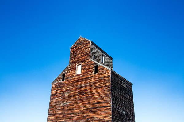 Photograph - Loring Grain Elevator by Todd Klassy
