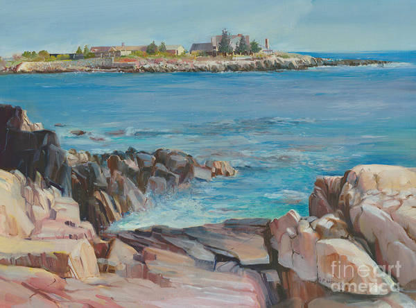 Painting - Looking At Walkers Point Estate  by P Anthony Visco