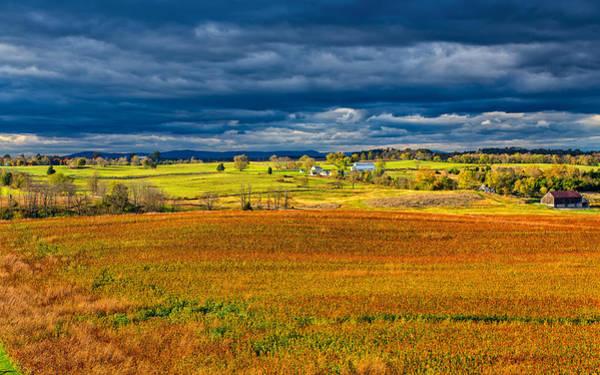 Sharpsburg Photograph - Looking Back At Antietam by John M Bailey