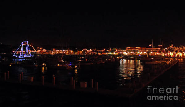 Lightner Museum Photograph - Looking Back At The Night Of Lights by D Hackett