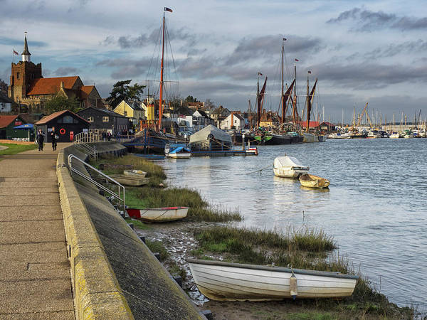 Photograph - Looking Back Towards Maldon by Stephen Barrie
