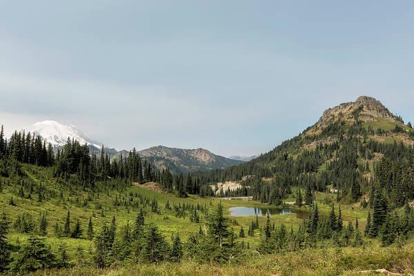 Photograph - Looking Down At Tipsoo Lake From Naches Peak Loop by Belinda Greb