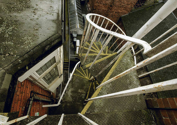 Photograph - Looking Down Georgian Spiral Steps by Jacek Wojnarowski