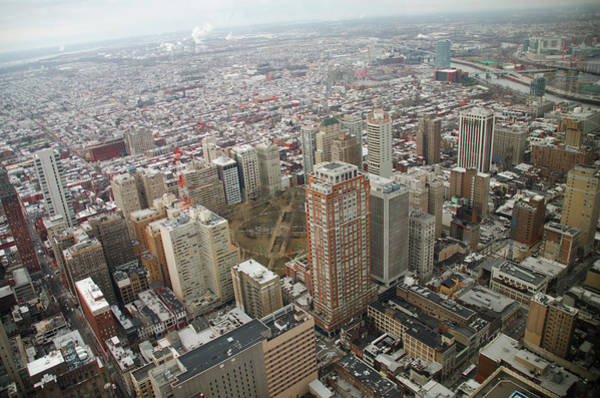 Photograph - Looking Down On Rittenhouse Square by Bill Cannon