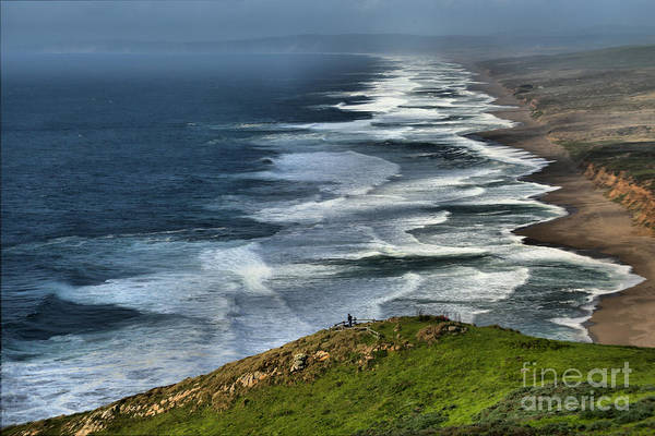 Photograph - Looking Down On South Beach by Adam Jewell