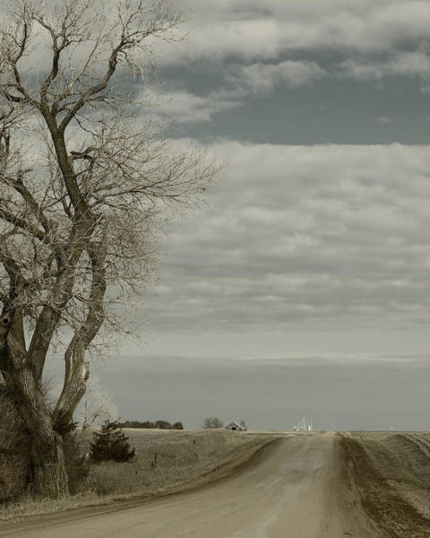 Photograph - Looking Down The Country Road by Art Whitton