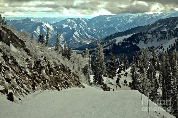 Photograph - Looking Down The Great Western Slope by Adam Jewell