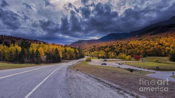 Photograph - Looking Down To Pinkham Notch. by New England Photography