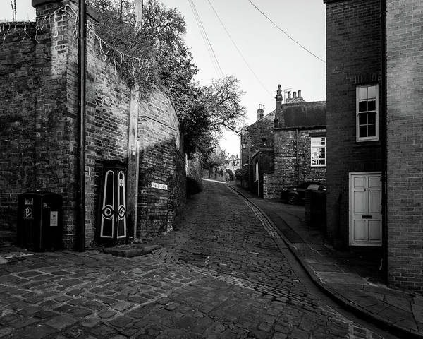 Photograph - Looking Down Well Lane Lincoln by Jacek Wojnarowski