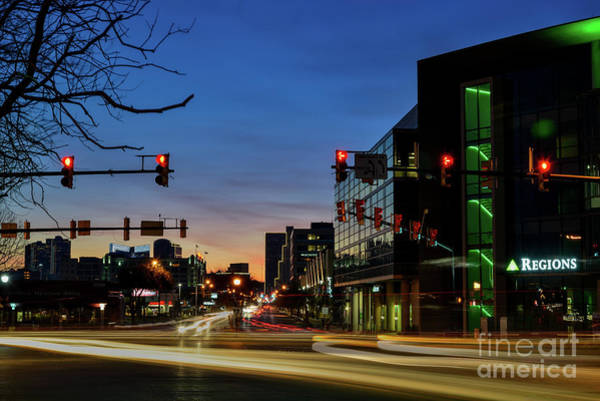 Photograph - Looking Down West 7th by Paul Quinn