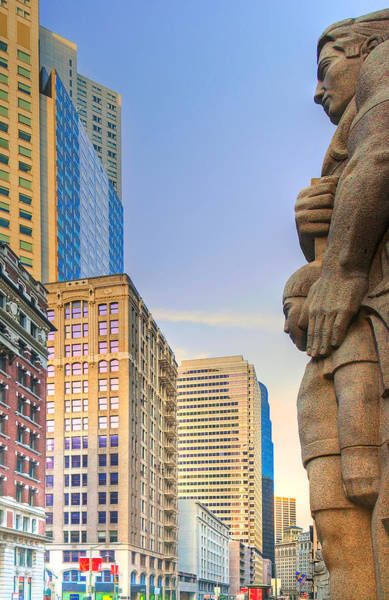Photograph - Looking Downtown by Mick Burkey