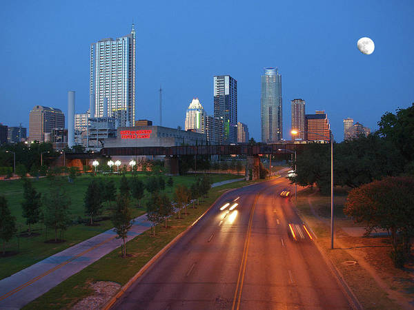 Photograph - Looking East At Austin by James Granberry