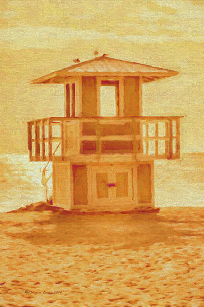 Guard Tower Wall Art - Photograph - Looking For Summer by Marvin Spates